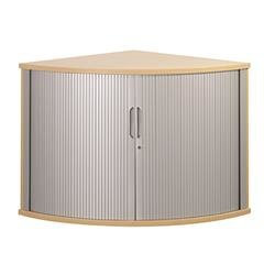 Sonix Tambour Corner Cupboard 800mm Acer Maple - w9050m - w9050m