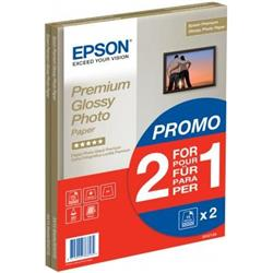 Epson Premium Glossy Photo Paper 255gsm Water and Smudge Resistant Ref C13S042169 [Pack 30]
