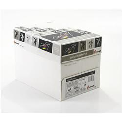 Color Copy Paper Coated Glossy White FSC4 A4 210x 297mm 250gm Ref 24881 [Pack 250]