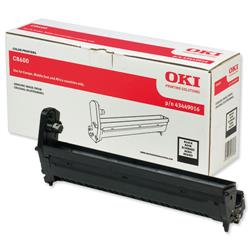 OKI Black Image Drum Unit for C8600/C8800 Ref 43449016