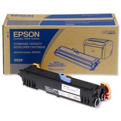 Epson S050520 Laser Toner Cartridge Page Life 1800pp Black Ref C13S050520