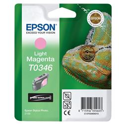 Epson Singlepack Light Magenta T0346 Ultra Chrome - C13T03464010-1