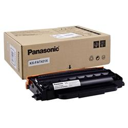 Panasonic Laser Toner Cartridge Page Life 6000pp Black Ref KX-FAT431X