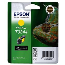 Epson Singlepack Yellow T0344 Ultra Chrome Ink Cartridge Ref C13T03444010