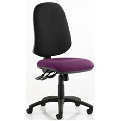 Eclipse XL Task Operator Chair Purple Colour Seat With Arms Ref KCUP0256