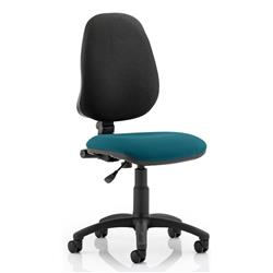 Eclipse I Task Operator Chair Kingfisher Colour Without Arms Ref KCUP0215