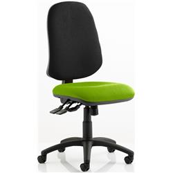 Eclipse XL Task Operator Chair Swizzle Colour Seat With Arms Ref KCUP0250