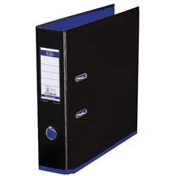 Elba MyColour Lever Arch File Polypropylene Capacity 80mm A4 Black and Purple Ref 100081034