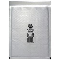 Jiffy Airkraft No.4 White Postal Bags 230x320mm Ref JL-AMP-4-10 - Pack 10