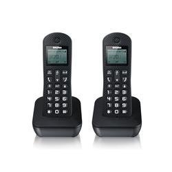 Telefono Cordless Mariot twin Brondi - 2 telefoni - nero