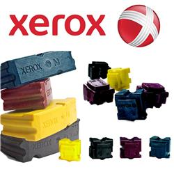 Xerox ColorStix Yellow (Yield 3,400 Pages) Solid Ink Sticks Pack of 3 for Xerox WorkCentre C2424 Series