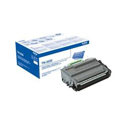 Brother TN-3520 (Yield: 20,000 Pages) Black Toner Cartridge