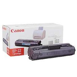 Canon EP-22 (Black) Toner Cartridge (Yield 2,500 Pages)
