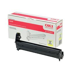 OKI Yellow Image Drum for C8600/C8800 Colour Printers (Yield 20,000 Pages)