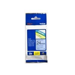 Brother P-touch TZe-551 (24mm x 8m) Black On Blue Laminated Labelling Tape