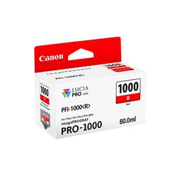 Canon PFI-1000R (Red) Ink Cartridge (80ml)