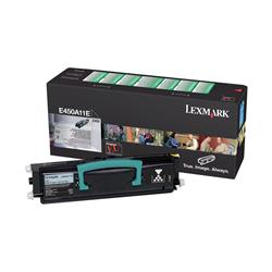 Lexmark Return Programme Toner Cartridge (Yield 6,000 Pages) for E450 Mono Laser Printer