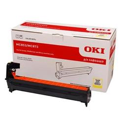 OKI Yellow Image Drum (Yield 30,000 Pages) for ES8453/ES8473 Multi Function Printers