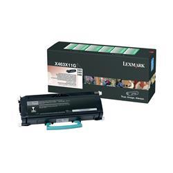 Lexmark Black Extra High Yield Return Program Toner Cartridge (Yield 15,000 Pages) for X463/X464/X466 Multifunction Mono Laser Printer