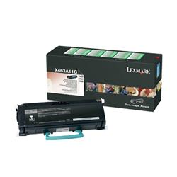 Lexmark Black Return Program Toner Cartridge (Yield 3,500 Pages) for X463/X464/X466 Multifunction Mono Laser Printer