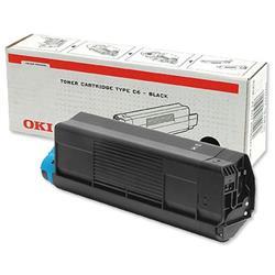 OKI Toner Cartridge (Black) for C3100 Desktop Colour Printers (Yield 3,000 Pages)
