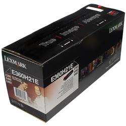 Lexmark Black High Yield Toner Cartridge (Yield 9,000 Pages) for E360/E460 Mono Laser Printers