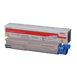 OKI 45862814 (Yield: 10,000 Pages) High Yield Yellow Toner Cartridge