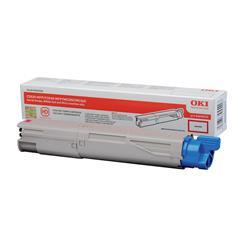 OKI 43459370 (Yield: 2,500 Pages) Magenta Toner Cartridge