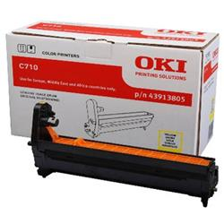OKI Yellow (Yield 15,000 Pages) Image Drum for C710 A4 Colour Printers