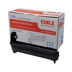 OKI 43870023 (Yield: 20,000 Pages) Cyan Imaging Drum