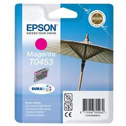 Epson T0453 DURABrite Magenta Ink Cartridge (Standard Capacity) for C64/C84/CX6400/C66/C86/CX6600/CX3600 Printers