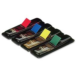 Post-it Small Index Flags Repositionable W12.5xH43mm Standard Colours Ref 683-4 [Pack 140] - 3 for 2