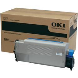 OKI Toner Cartridge (Black) for B840 Workgroup Mono Printers (Yield 20,000 Pages)