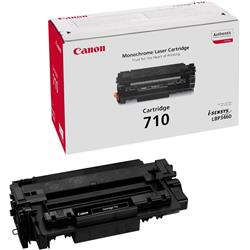 Canon 710 (Black) Toner Cartridge (Yield 6,000 Pages)