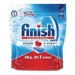 Finish Dishwasher Powerball Tablets All-in-1 Ref 3041411 [Pack 53] - 2 for 1