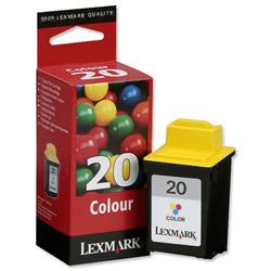 Lexmark No 20 Colour Print Cartridge (Yield 450 Pages)