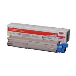 OKI 43459434 (Yield: 1,500 Pages) Magenta Toner Cartridge