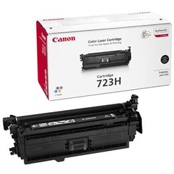 Canon 723H (Black) High Capacity Toner Cartridge (Yield 10,000 Pages)