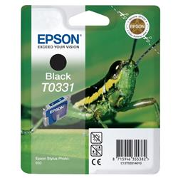 Epson T0331 Black Ink Cartridge for Stylus Photo 950 Printer