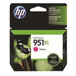 Hewlett Packard (HP) No. 951XL Inkjet Cartridge High Capacity Page Life 1300pp Magenta Ref CN047AE #BGX