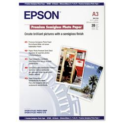 Epson A3 Premium Semigloss Photo Paper  Ref C13S041334 - 20 Sheets