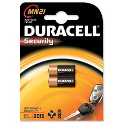 Duracell MN21 Battery Alkaline for Camera Calculator or Pager 1.2V Ref 75072670 - Pack 2