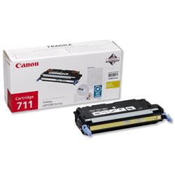 Canon 711 Yellow Laser Toner Cartridge for i-SENSYS LBP5360 Ref 1657B002