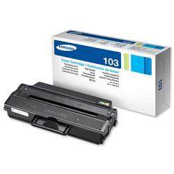 Samsung Laser Toner Cartridge Page Life 1500pp Black Ref MLT-D103S/ELS