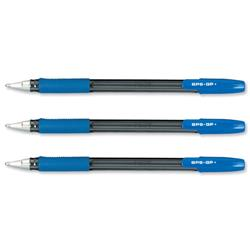 Pilot BPS GP Blue 1.0mm tip Medium Ball Pen Ref BPGPM03 - Pack 12