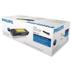 Philips Laser Toner Cartridge and Drum Page Life 3500pp Black Ref PFA751