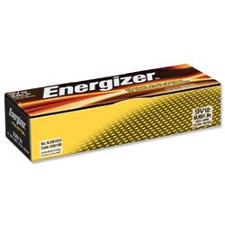Energizer Industrial Long Life 9V Battery 6LR61 Ref 636109 - Pack 12