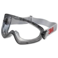 Image of 3M Safety Goggles Splash Proof Dust Resistant