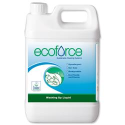 Ecoforce Washing Up Liquid 5 Litre Ref 11506 [Pack 2]