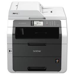 Brother Colour Laser Multifunctional Printer Duplex Network Wi-Fi A4 Ref MFC9330CDW